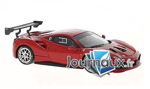 Ferrari 488 Challenge, dunkelrot