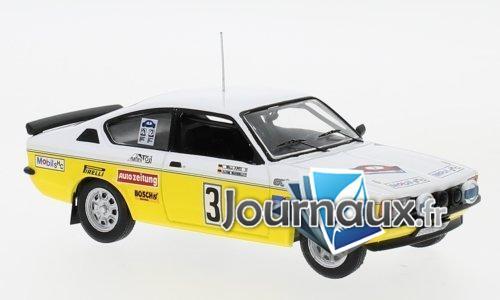 Opel Kadett C GT/E, No.3, Irmscher Tuning, Rallye DM, Rally Hunsrück - 1978