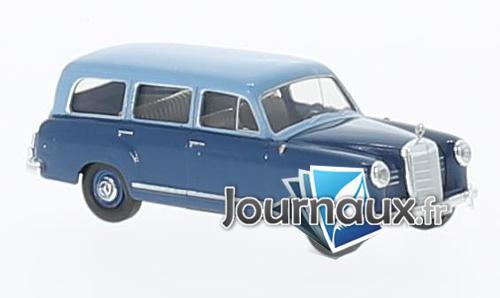 Mercedes 180 Kombi, hellblau/bleu foncé