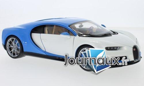 Bugatti Chiron, weiss/bleu clair - 2016