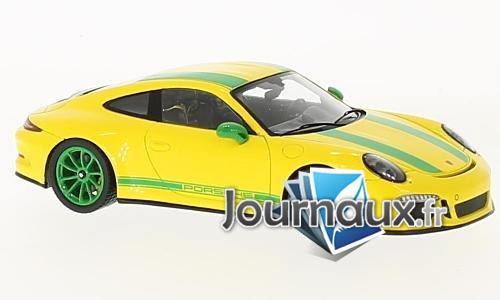 Porsche 911 R, gelb/grün - 2017
