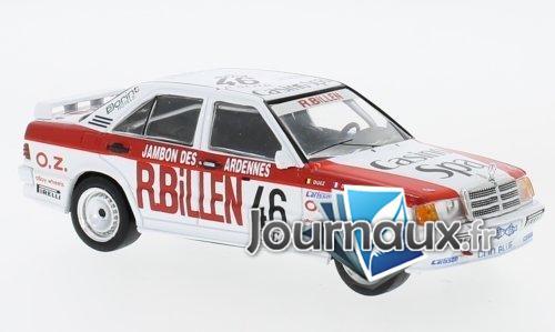 Mercedes 190E 2.3-16V, No.46, ETCC - 1986