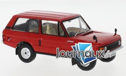 Land Rover Velar, rouge, RHD - 1969