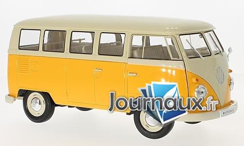 VW T1 Bus, dunkelgelb/beige - 1963