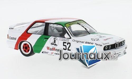 BMW M3 (E30), No.52, Bigazzi BMW, ETCC - 1988