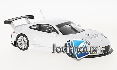 Porsche 911 GT3 R, blanche