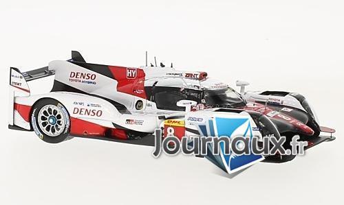 Toyota TS50 hybride, No.8, Toyota Gazoo Racing, WEC, 6h Fuji - 2017