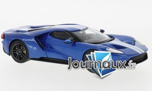Ford GT, bleu/argenté - 2017