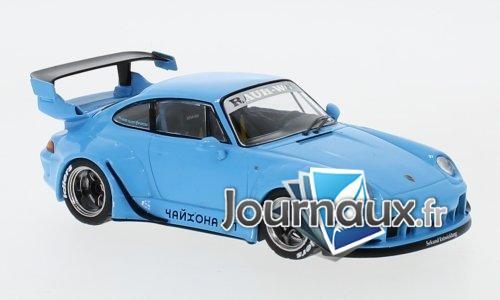 Porsche RWB 993, bleu clair