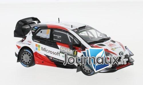 Toyota Yaris WRC, No.9, Microsoft, Rallye WM, Rallye Italie - 2018