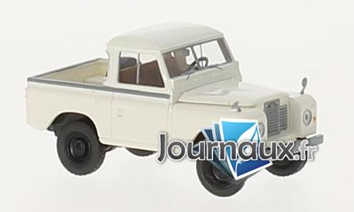 Land Rover 88 toit amovible, weiss
