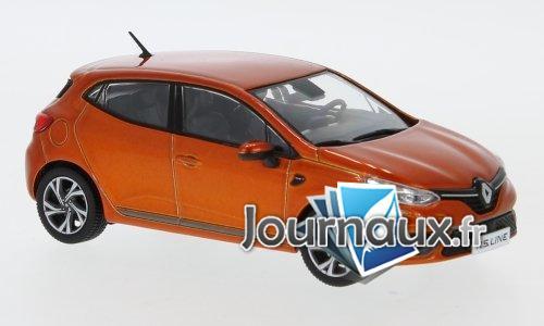 Renault Clio RS Line, metallic-orange - 2019