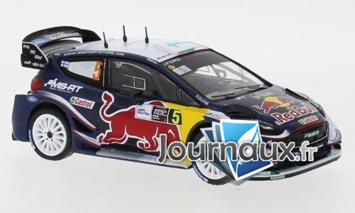Ford Fiesta RS WRC, No.5, Red Bull, Rallye Monza - 2018
