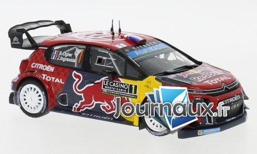 Citroen C3 WRC, No.1, Red Bull, WRC, Rallye Monte Carlo - 2019