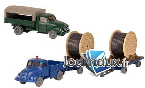Set Wiking-Verkehrs-modèles 80