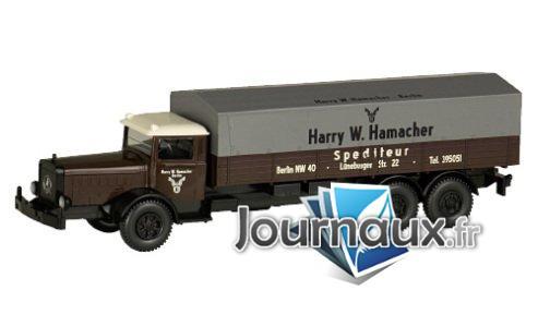 Mercedes L 10000, Expédition Hamacher