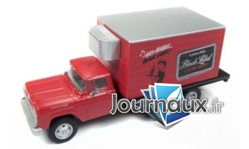 Ford Box Refrigerated Truck, Carling Black Label - 1960