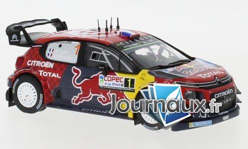 Citroen C3 WRC, No.1, Red Bull, Rallye WM, Rally Chile - 2019