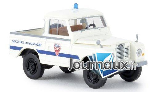 Land Rover 88 toit amovible, Police CRS