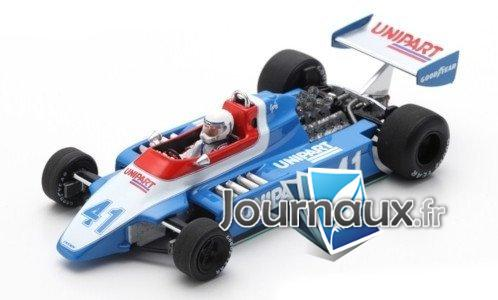 Ensign N180, No.41, Formel 1, GP Holland - 1980