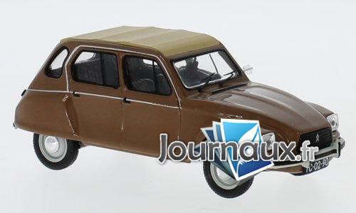 Citroen Dyane Nazare, brun/beige - 1982