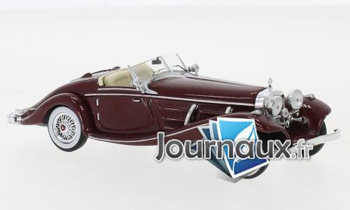 Mercedes 540K Spezial Roadster (W29), rouge foncé - 1936