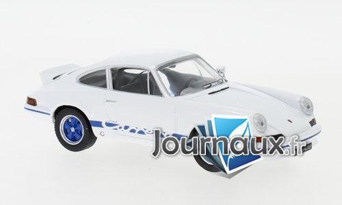 Porsche 911 Carrera RS 2.7, weiss/blau - 1973