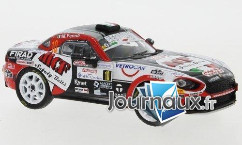 Fiat Abarth 124 RGT, No.10, Bernini Rally, MCF Safety Belts, Rallye San Remo - 2019