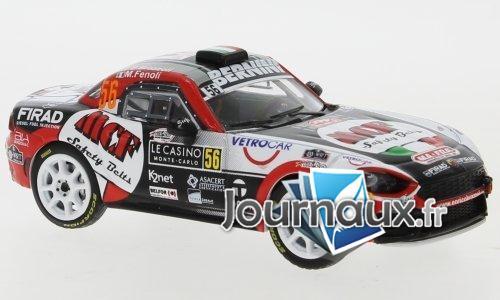 Fiat Abarth 124 RGT, No.56, Bernini, MCF Safety Belts, Rallye Monte Carlo - 2019