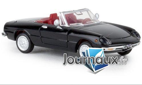 Alfa Romeo Spider, noire - 1969