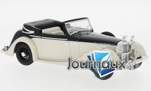Alvis 4.3 Litre Drophead Convertible, schwarz/hellbeige, RHD - 1938