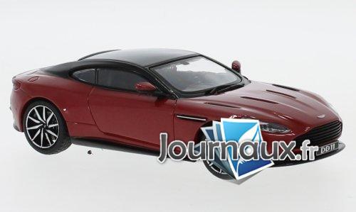 Aston Martin DB 11, metallic-rot/noire - 2016