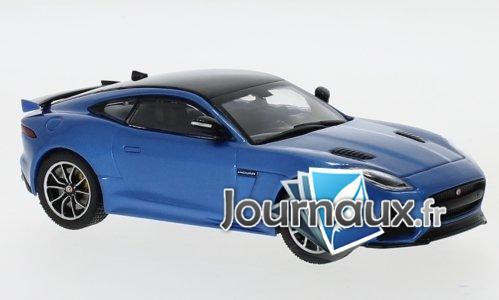 Jaguar F-Type SVR, metallic-bleu/noir - 2016