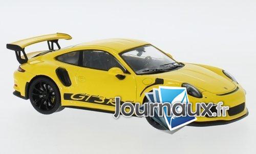 Porsche 911 (991) GT3 RS, jaune - 2017