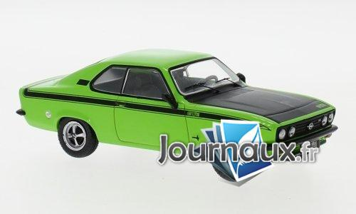 Opel Manta A GT/E, hellgrün/schwarz - 1974