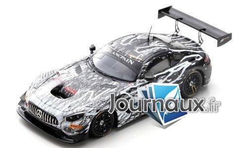Mercedes AMG GT3, No.74, Ram racing, 24h Spa - 2019
