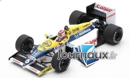 Williams FW11 Honda, No.6, Formel 1, GP Brésil - 1986