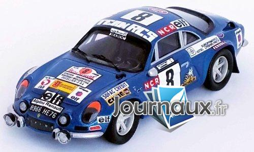 Alpine Renault A110, No.8, Rally Marokko - 1974