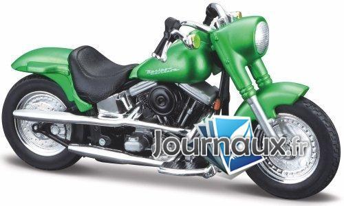 Harley Davidson FLSTF Street Stalker, metallic-grün - 2000