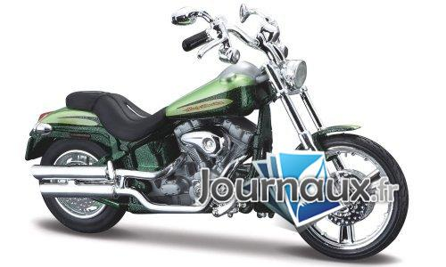 Harley Davidson FXSTDSE CVO, metallic-grün - 2004
