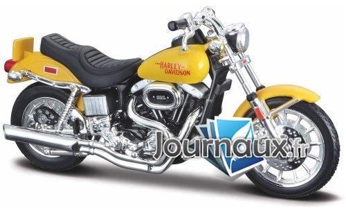 Harley Davidson FXS Low Rider, jaune - 1977