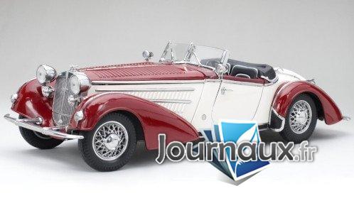 Horch 855 Roadster, rouge foncé/hellbeige - 1939