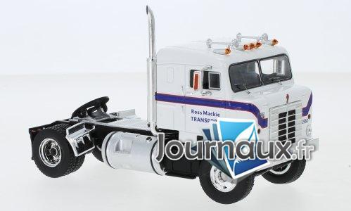 Kenworth Bullnose, blanche/blau, Ross Mackie Transport - 1950