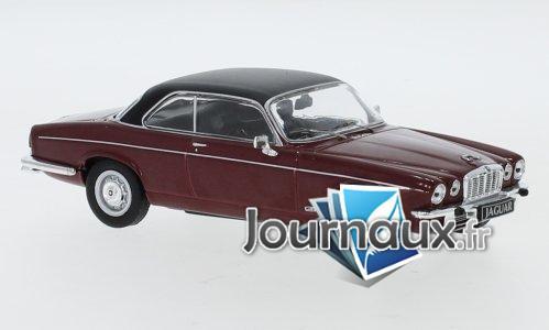 Jaguar XJ 12 C, rouge foncé/schwarz, RHD - 1976