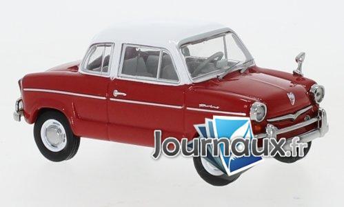 NSU Prinz 30E, rot/blanche - 1959