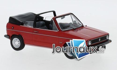 VW Golf I cabriolet, rot - 1981