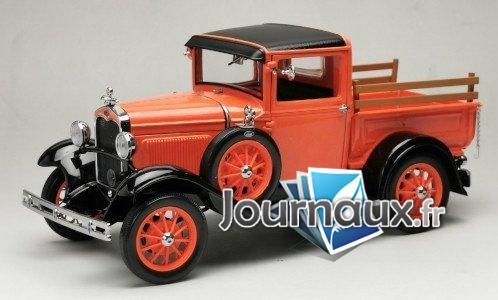 Ford Model A Pick Up, orange/noire - 1931