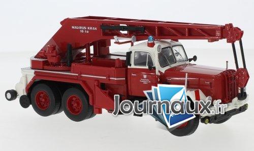 Magirus Uranus KW 16, pompiers Frankfurt / Main - 1959