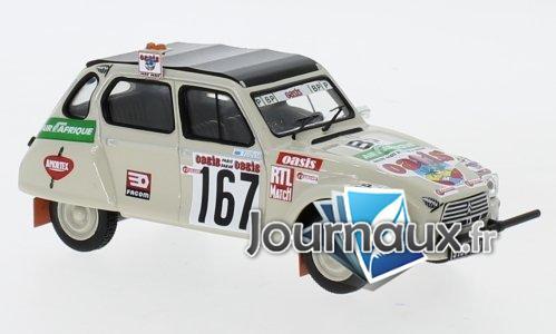 Citroen Dyane, No.167, Rally Paris Dakar - 1979