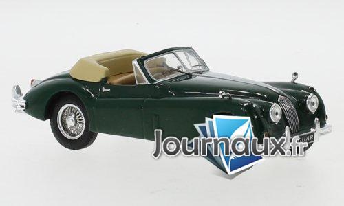 Jaguar XK 140 DHC, grün, RHD - 1956